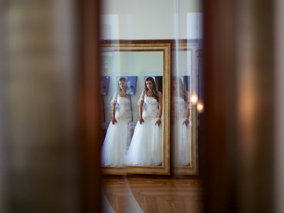 Wedding photos: bride