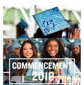 Cover of the Columbia Daily Spectator 2018 Commencement Issue