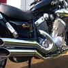 My shiny Yamaha Virago XV 535