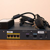 Cisco 877 Integrated Services Router back