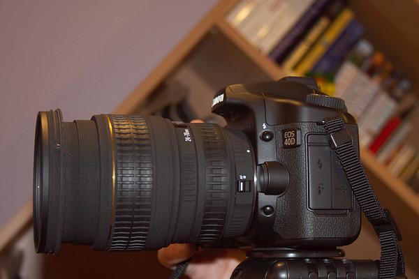 Canon EOS 40D + Sigma EX 24-70mm f/2.8