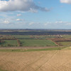 Another panoramic view over Uffington and a bit of the White Horse