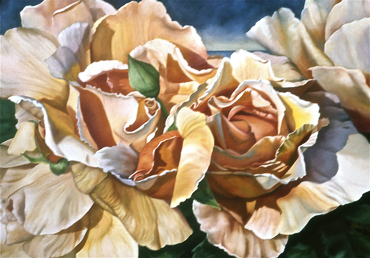 """""""ASHES OF ROSES""""  ~ 24"""" x 34"""""""