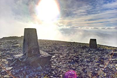 Wed 25th Jan : Skiddaw Summit Sky