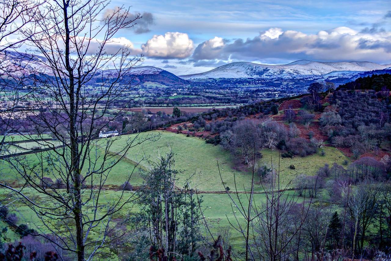 Fri 13th Jan : Latrigg, The Vale Of Keswick, Clough Head And The Dodds