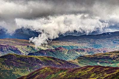 Hanging Cloud over Grange Fell