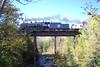 Soo 2719 Crossing the Sucker River Bridge