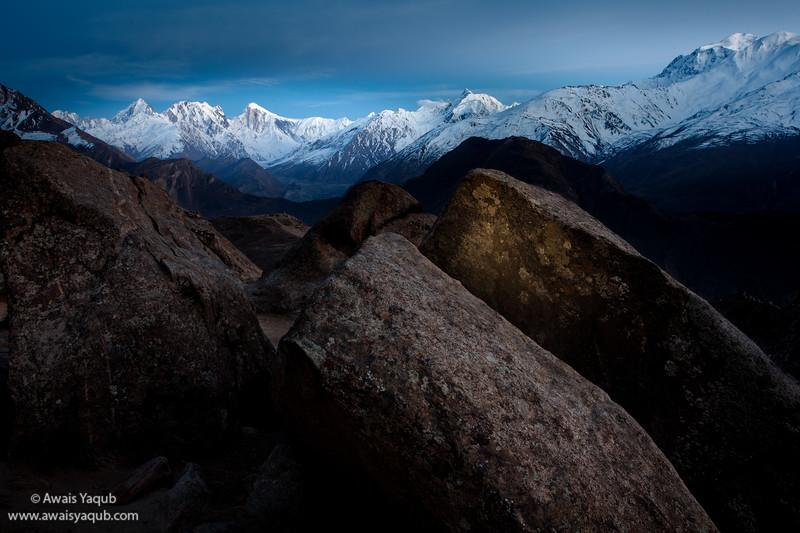 Spantik or Golden Peak