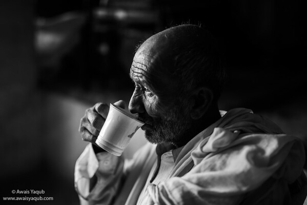 In deep thoughts and cup of tea