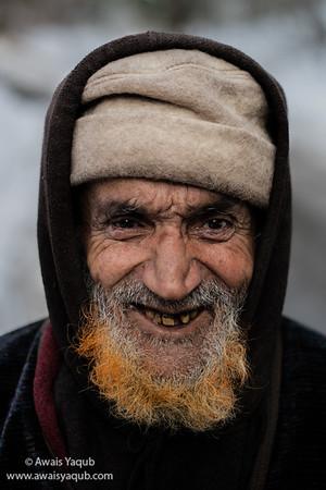 Old man and the orange beard