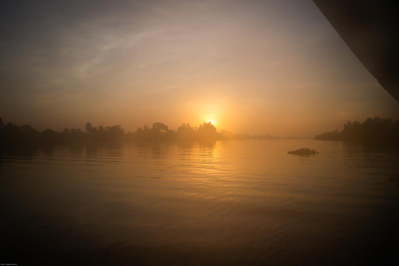 Mekong River, aboard the Gecko Eyes.