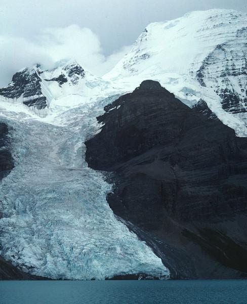 Berg Lake in Mt. Robson National Park