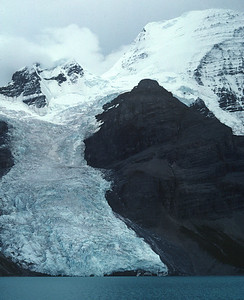 Berg Lake in Mt. Robson National Park
