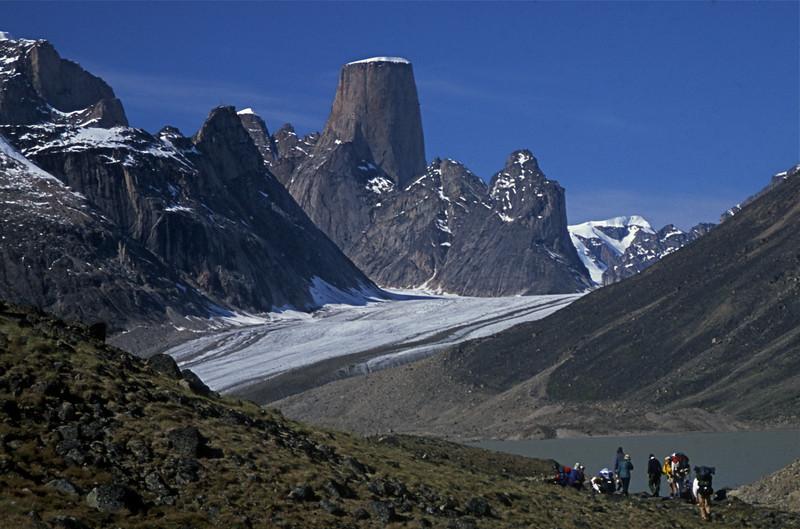 """Baffin Island """"Hiking toward Mt Asgard"""""""