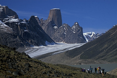 "Baffin Island ""Hiking toward Mt Asgard"""