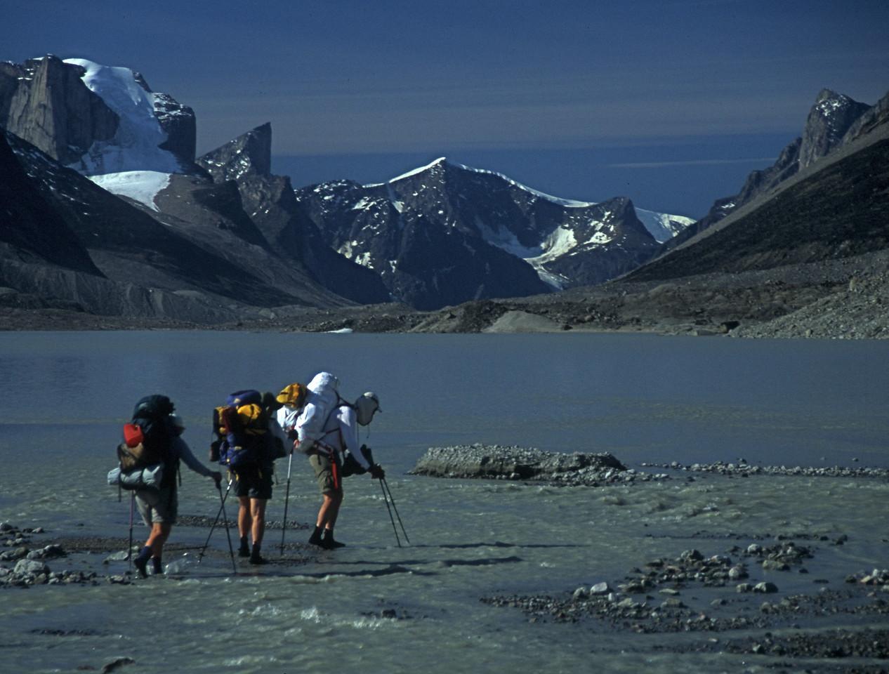 "Baffin Island ""Wet Feet"""