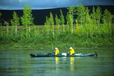 Canoeing the Noatak river in Gates of the Arctic NP