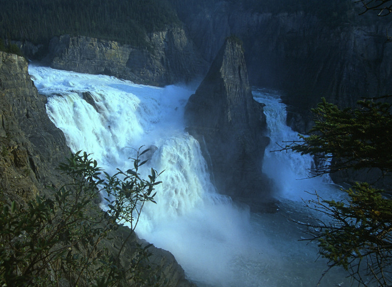 Virginia Falls on the Nahanni River in NWT