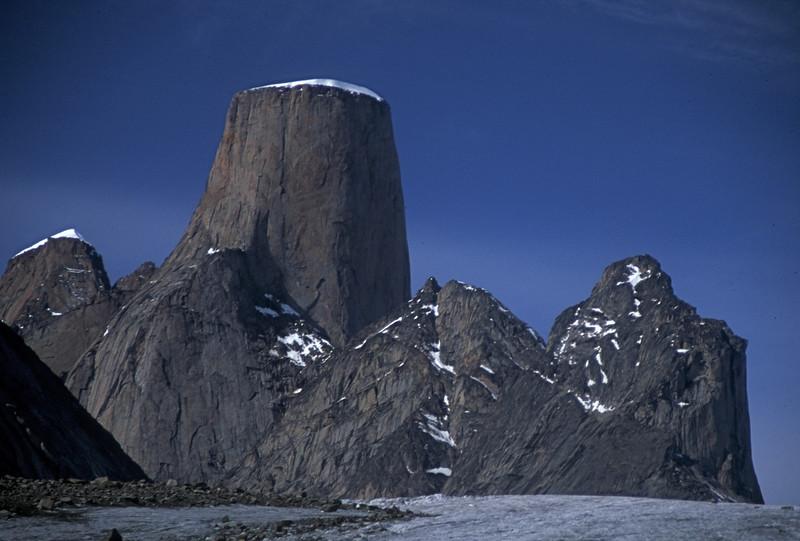 """Baffin Island """"Bue Skies Over Asgard"""""""