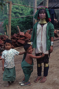 Mother with Rings - Thailand