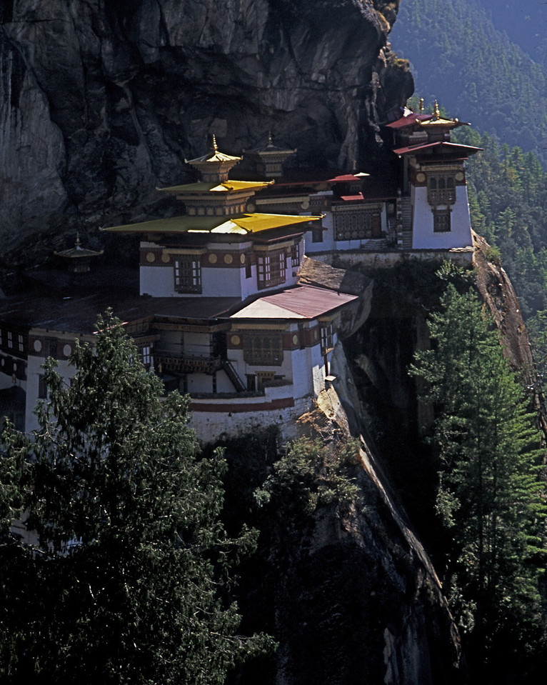 Taktsang Monastery in Bhutan is also known as Tiger's Nest