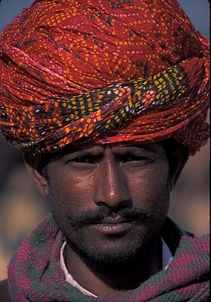 """""""Rajasthani Trader"""" - Pushkar Camel Fair"""