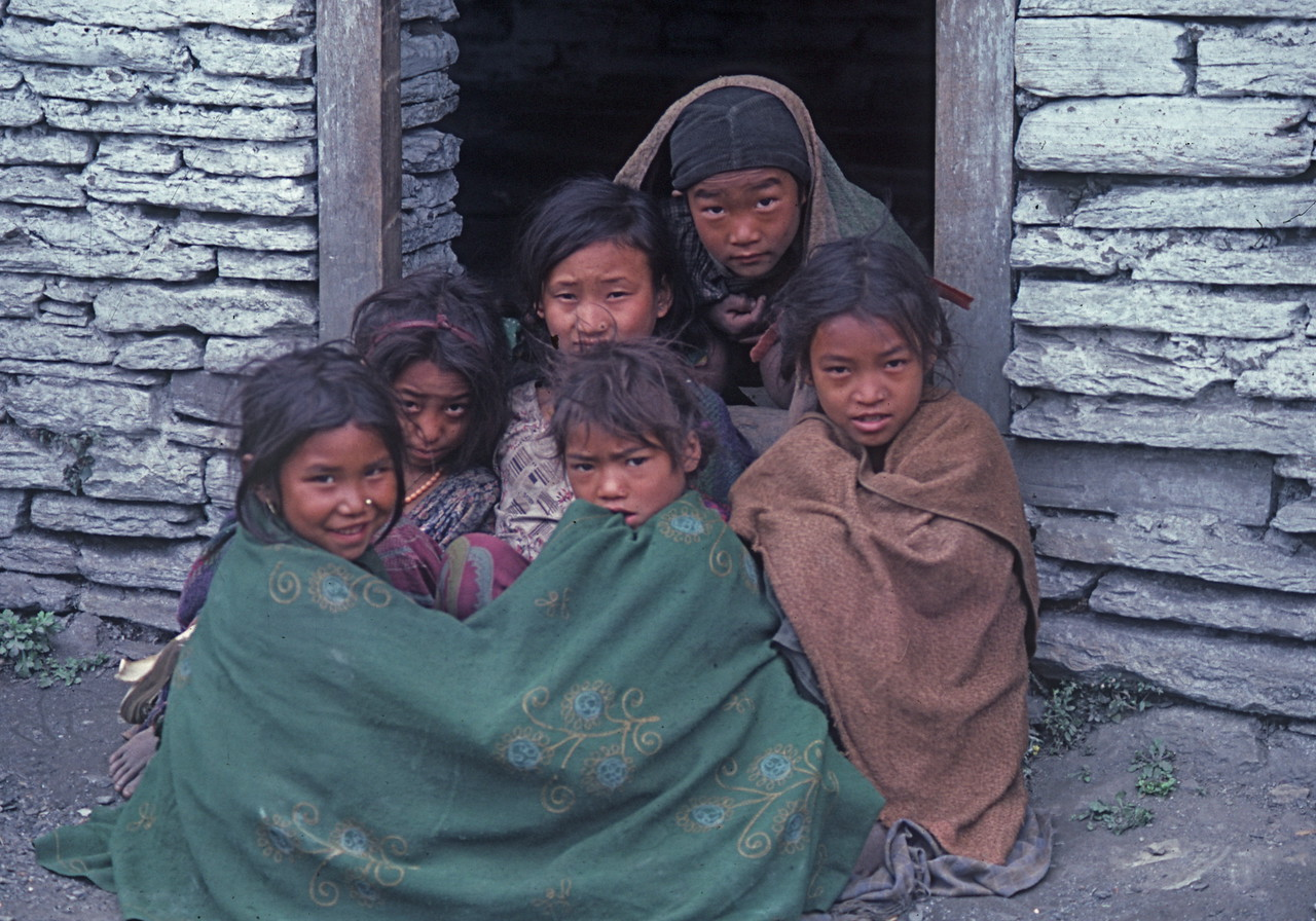 "Nepal -Dhaulagiri Circuit Attempt 1987<br /> ""The Schoolyard"""