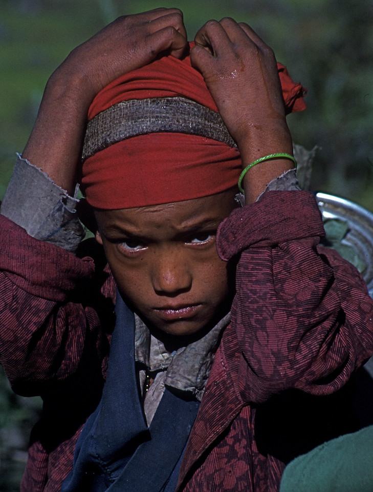 "Nepal - Rolwaling 1989<br /> ""Young Porter"""
