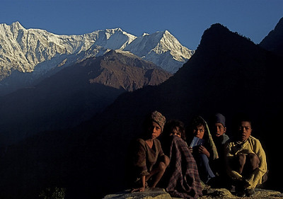 "Nepal - South of Dhaulagiri 1994 ""Early Morning"""