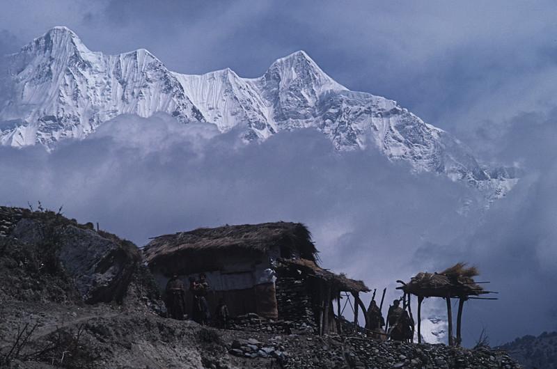 """Nepal -Dhaulagiri Circuit Attempt 1987 """"Mountain Village"""""""