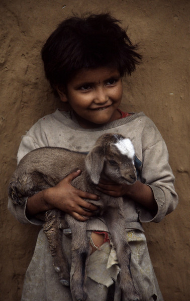 "Nepal - Rolwaling 1994<br /> ""Little Goat"""