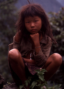"Nepal - Makalu 1991 ""Young Girl"""