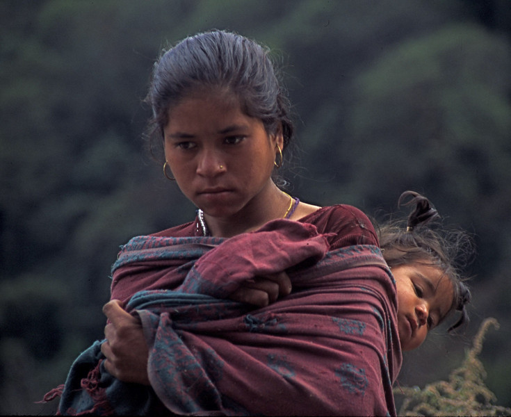 """Nepal - South of Dhaulagiri 1994<br /> """"After a Long Day"""""""