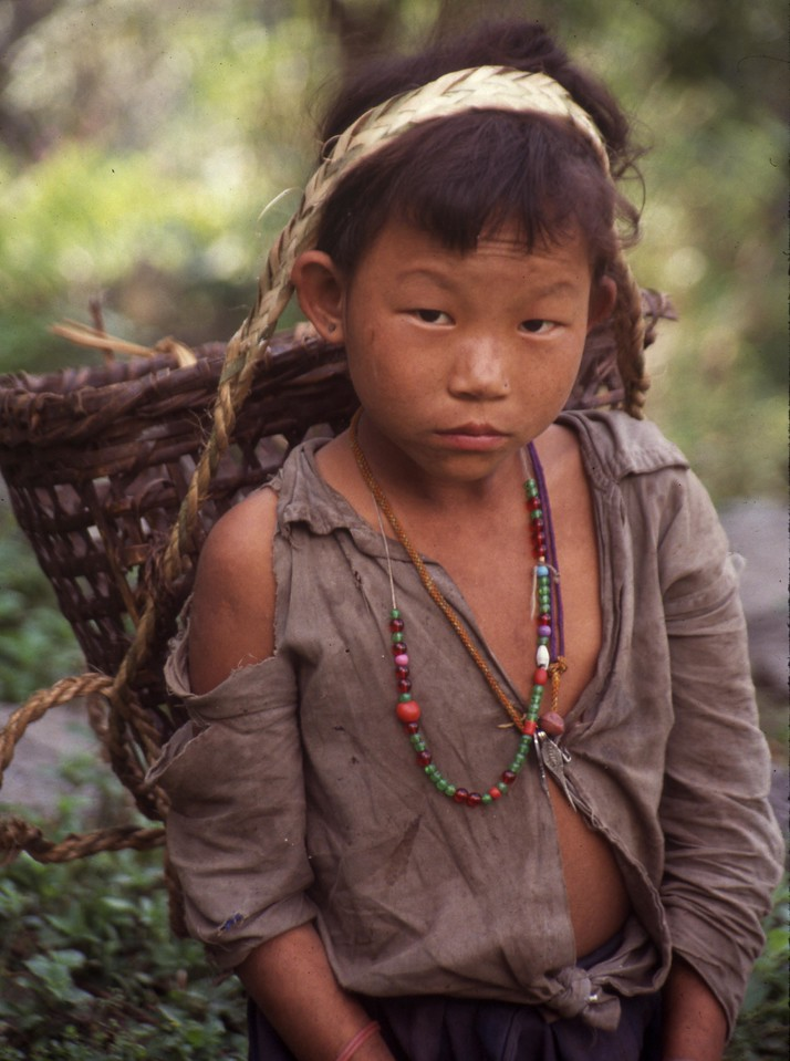 "Nepal - Makalu 1991<br /> ""Young Boy'"