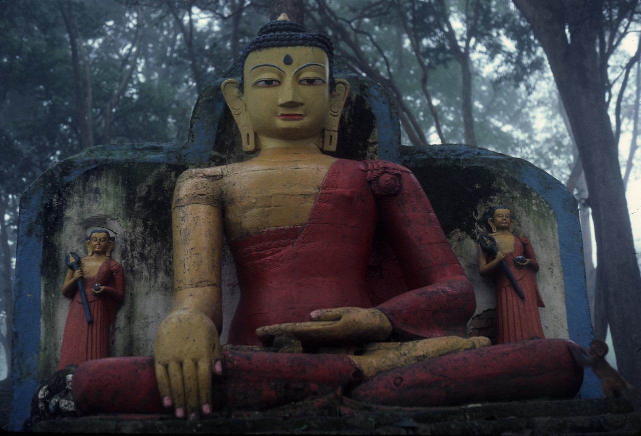 "Nepal - Kanchanjunja 1983<br /> ""Buddha"""