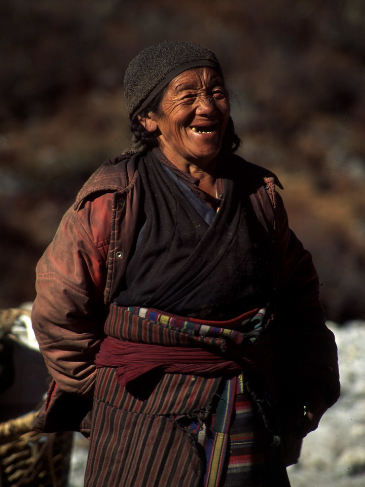 """Nepal - Rolwaling 1994<br /> """"Tibetan Smile"""""""