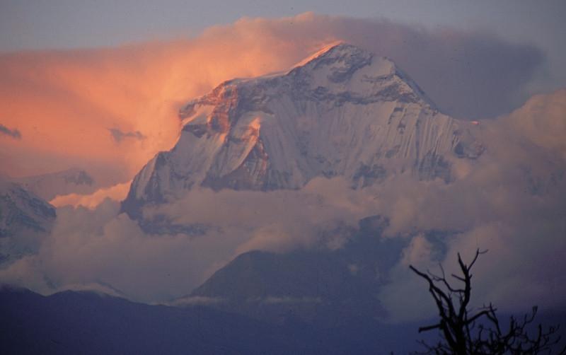 "Nepal - South of Dhaulagiri 1994<br /> ""Dhaulagiri Sunrise"""