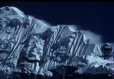 "Nepal - Kanchanjunja 1983 ""Ice Wall"