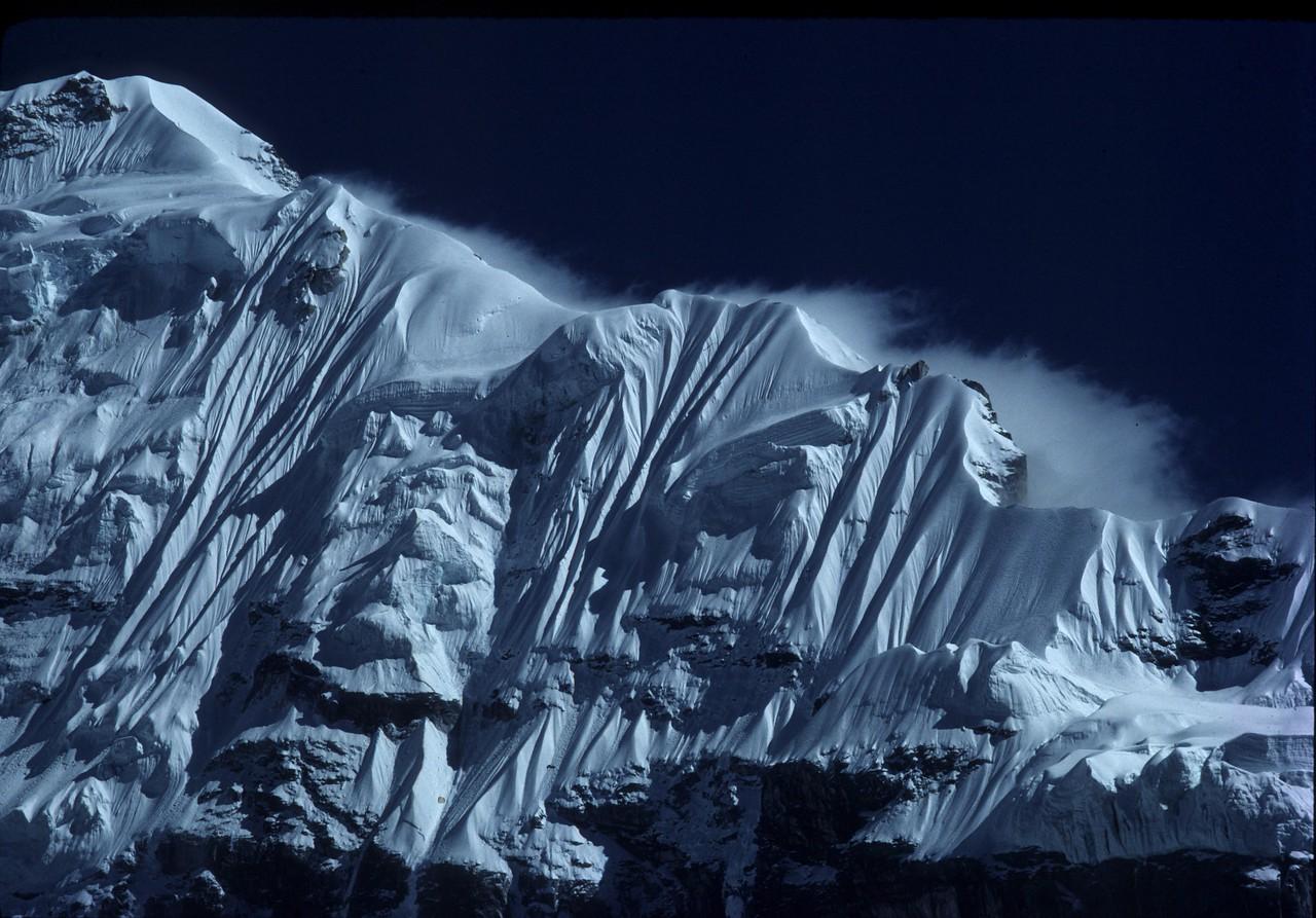 "Nepal - Kanchanjunja 1983<br /> ""Ice Wall"