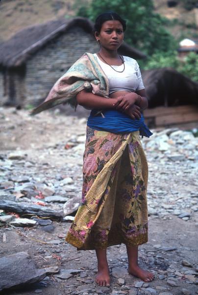 Nepal - Dhaulagiri Circuit Attempt 1987