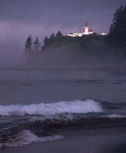 """Carmanah Lighthouse 2"" - West Coast Trail on Vancouver Island"
