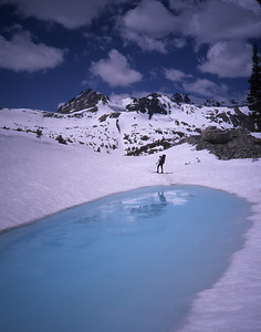 Spring Snow the High Sierra