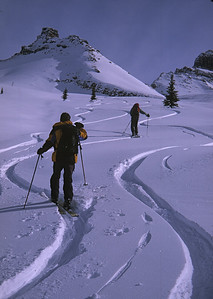 """Follow the Tracks"" - Heli skiing in Canada"