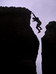 """""""Jump"""" - Somewhere along the San Juan River in Utah"""