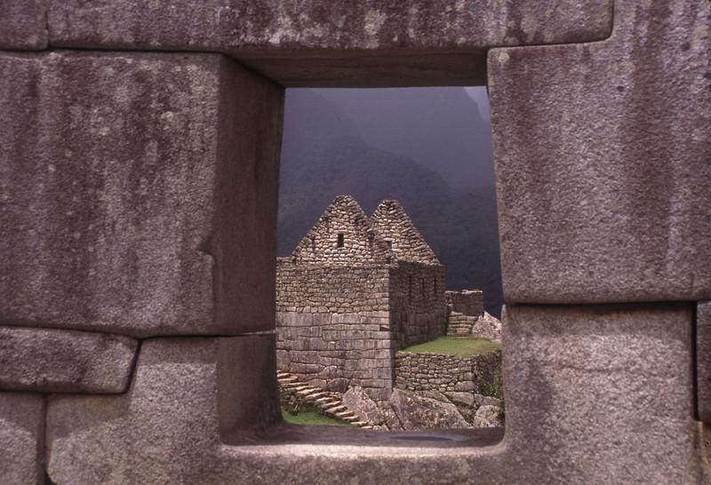 View from Machu Pichu