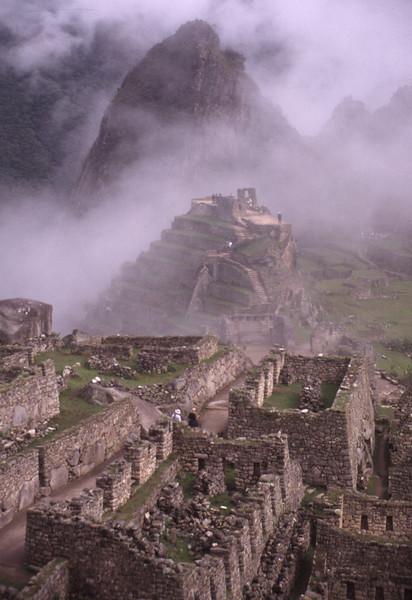 Machu Pichu Fog