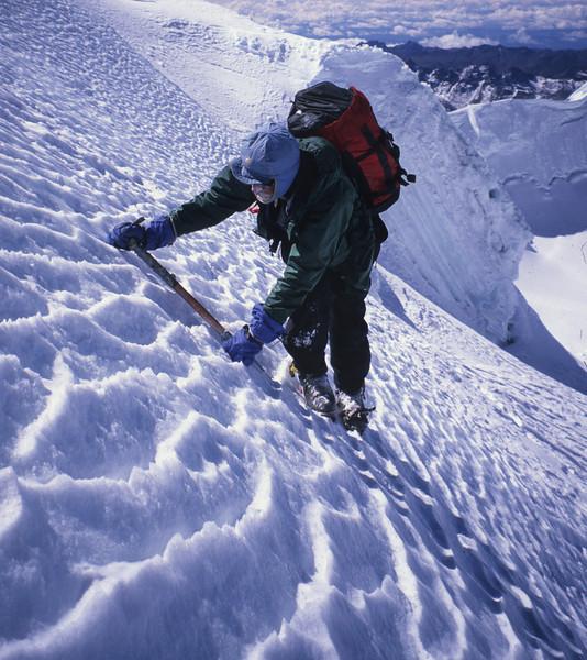 Steep Ice - Apolobama, Bolivia