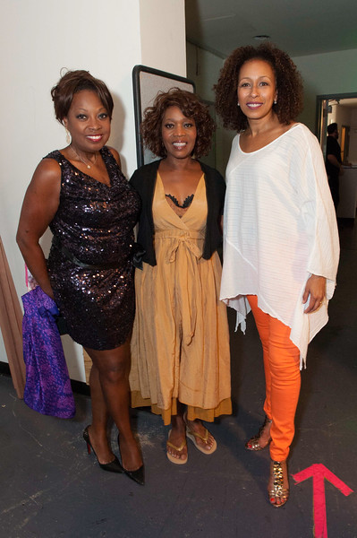 Star Jones, Alfre Woodard, Tamara Tunie