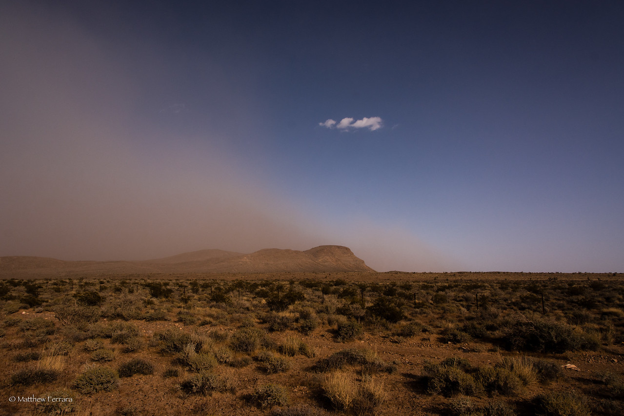 Sand Storm, Las Vegas, Near Red Rock Canyon
