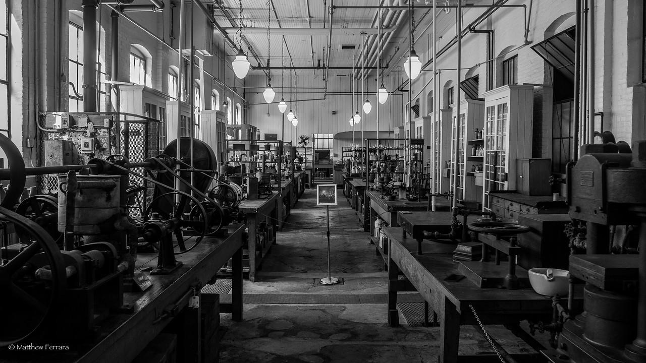 Thomas Edison Lab, Edison Museum, New Jersey